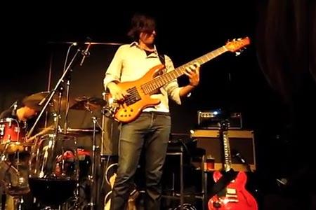 """Dane Alderson: Bass Solo on """"Liberty City"""""""