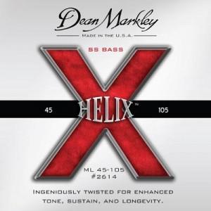 Dean Markley Introduces Helix Bass String Series
