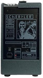 Schertler LaFaro Deluxe Combo Amp - back