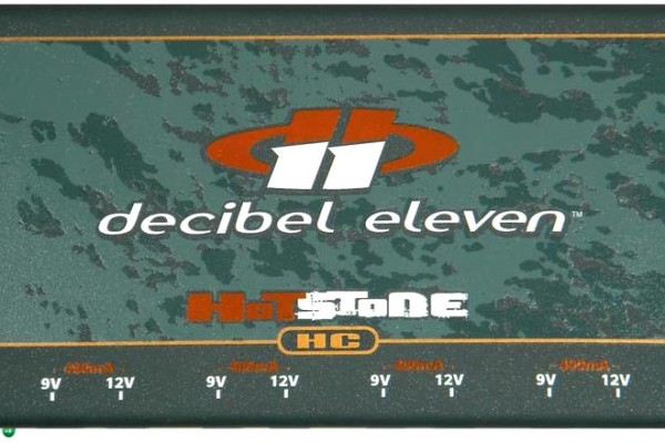 Decibel Eleven Introduces Hot Stone Series Power Supplies