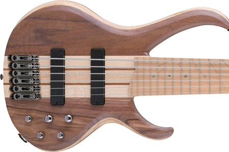 Ibanez Introduces Maple Fingerboards to BTB Line of Basses