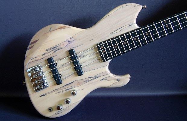 LeCompte Basses Prototype 1.5 - 4-String Spalted Bass