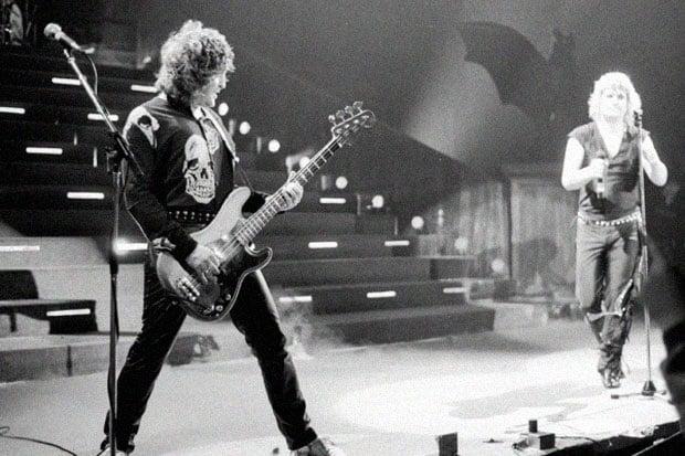 Bob Daisley with Ozzy Osbourne