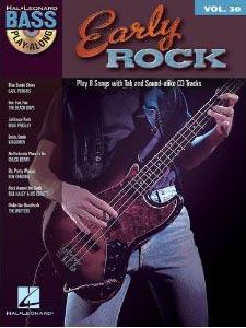 Early Rock: Bass Play-Along