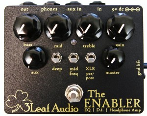 3Leaf Audio: Enabler Preamp Pedal