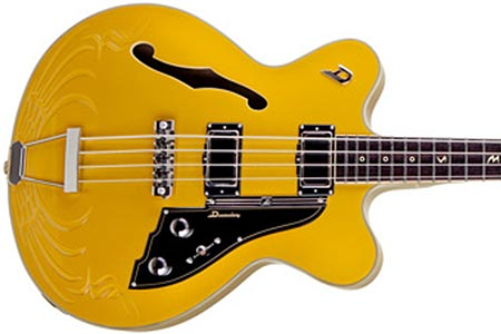 Duesenberg Celebrates Eagles' 40th Anniversary with Signature Bass