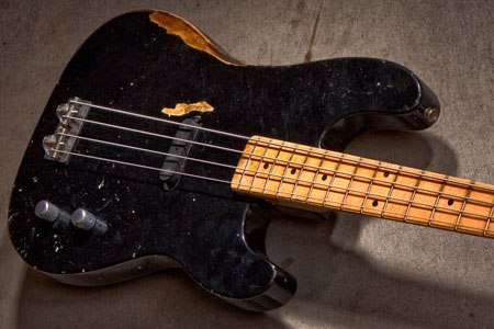 Fender Custom Shop Introduces Dusty Hill Signature Precision Bass