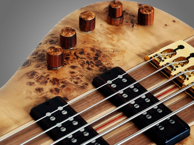 GMR Bass Guitars Bassforce NT - controls