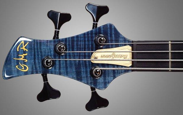 GMR Bass Guitars Bassforce NT - headstock