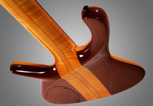 GMR Bass Guitars Bassforce NT - back angle view