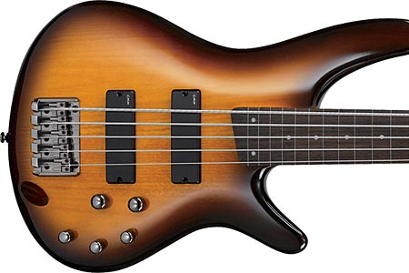 Ibanez Introduces New Fretless SR Bass Models