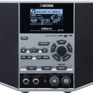 BOSS Introduces eBand JS-10 Audio Player with Effects