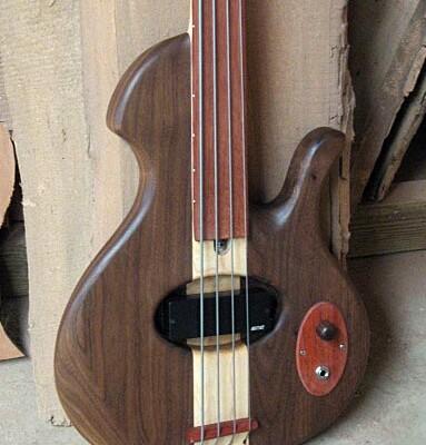 Birdsong Guitars Introduces Embrace Fretless Bass