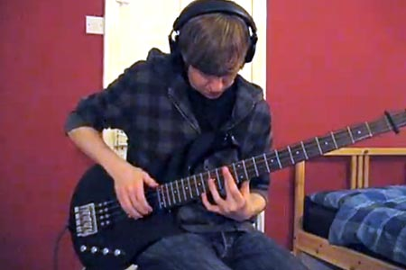 "Samuel Haynes: ""Lucid"" Solo Bass Performance"