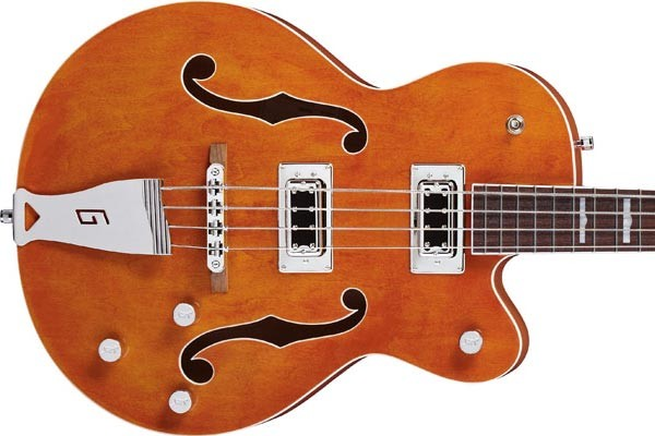 Gretsch Expands Electromatic Line With Two New Hollow-Body Basses