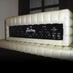 """Old School: 1960's Kustom Model 200 """"Tuck & Roll"""" Bass Amplifier"""