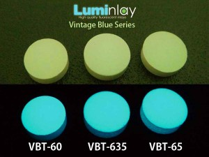 Luminlay Vintage Blue Series Fluorescent Position Markers