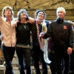 Rolling Stones Rehearsing with Bill Wyman