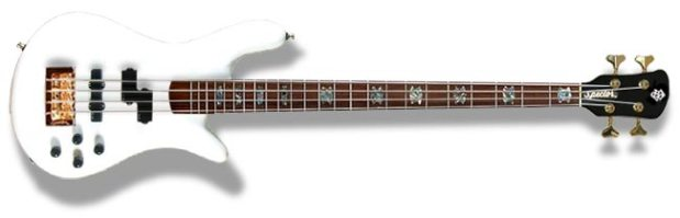 Spector NS-2 Bass - white gloss finish