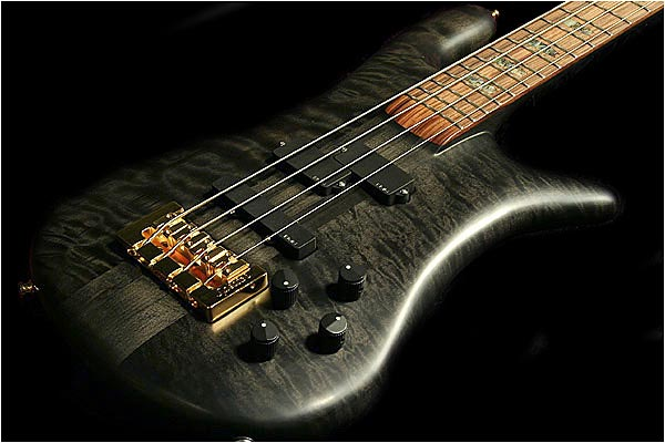 Spector NS-2 Bass - Trans-black with rosewood