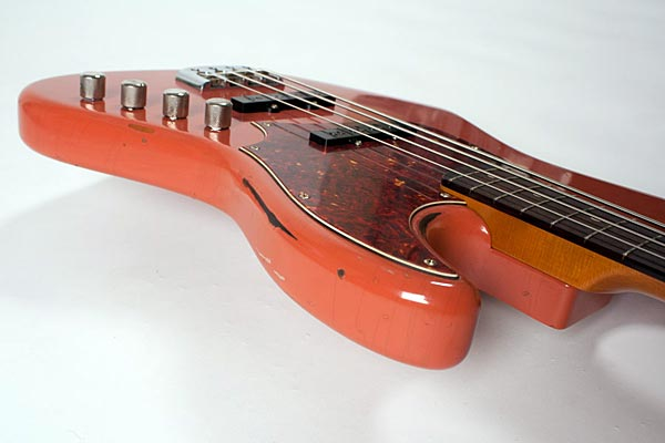 De Gier BeBop Bass - body side view