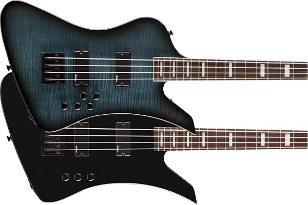 Jackson Unveils JS Series Kelly Bird Basses