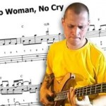 "Transcription: ""No Woman, No Cry"" Solo Bass Arrangement"