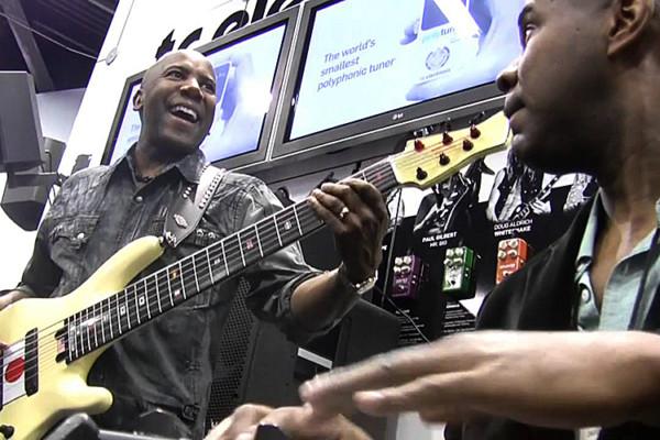 "Nathan East and David ""Fingers"" Haynes: NAMM Jam"