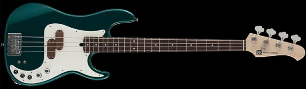 Xotic 4-String XP-1T Bass - Sherwood Green Metallic