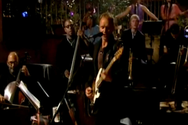 Sting with Christian McBride: Englishman in New York