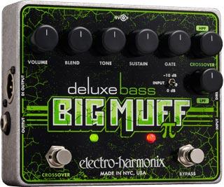 Electro-Harmonix Announces Deluxe Bass Big Muff Pi