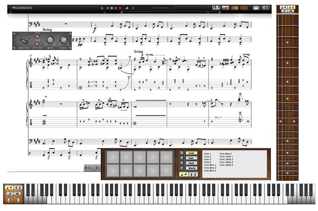 Notion Music Progression 2.0 Composition Software screen example