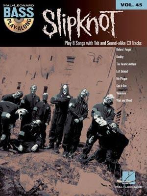 Slipknot: Bass Play-Along Volume 45