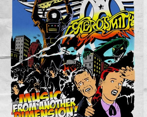 """Aerosmith Releases """"Music From Another Dimension!"""""""