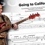 "Transcription: Stu Hamm's ""Going to California"""