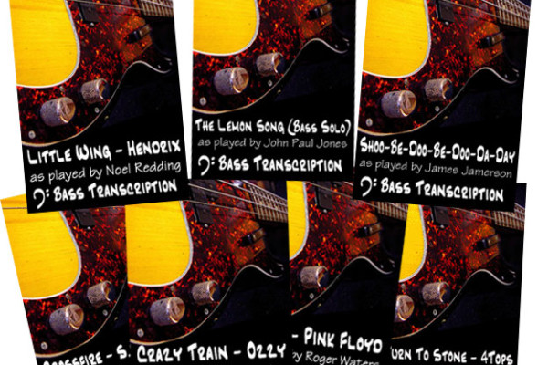 Eric Beaule Releases New Bass Transcriptions Series on Classic Tunes