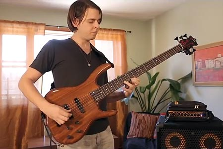 """Evan Marien: """"Lights"""" Cover Tune for Solo Loop Bass"""