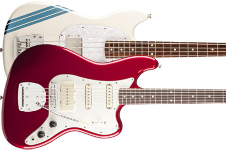 Fender Unveils Pawn Shop Bass VI and Mustang Bass Models