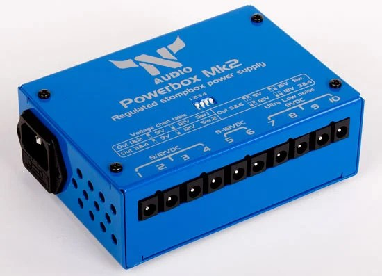 N-Audio Introduces Powerbox Mk2 Stompbox Power Supply