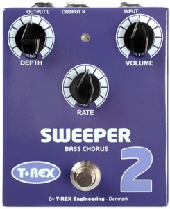 T-Rex Effects Sweeper 2 Bass Chorus Pedal