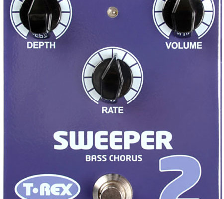 T-Rex Effects to Debut Sweeper 2 Bass Chorus at 2013 NAMM Show