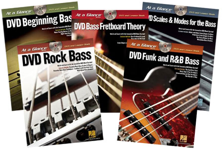 "Hal Leonard Announces ""At A Glance"" Series for Bass"