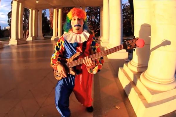 Nick Schendzielos: Mullet Clown Bass Gun Control