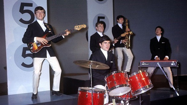 Dave Clark Five with Rick Huxley