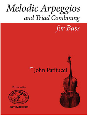 John Patitucci Releases Melodic Arpeggios and Triad Combining for Bass, Episode 1