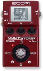 Zoom MultiStomp MS-60B Bass Pedal