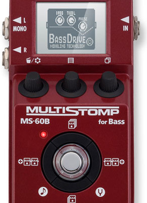 Zoom Announces MultiStomp MS-60B Bass Pedal at NAMM