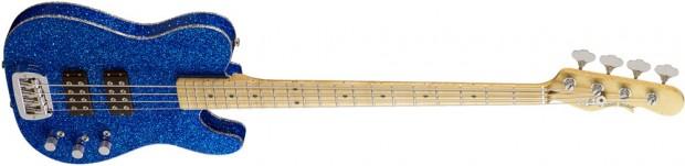 G&L ASAT Tom Hamilton Signature Bass - Blue Flake