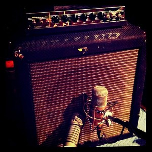 Mic and bass amp