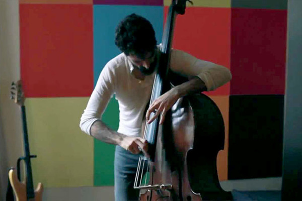 "Petros Klampanis: ""Countdown"" Solo Looping Double Bass"